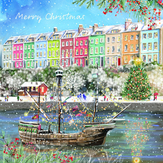 The Harbourside at Christmas
