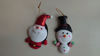 Picture of Festive Christmas Decorations - Pack of 6