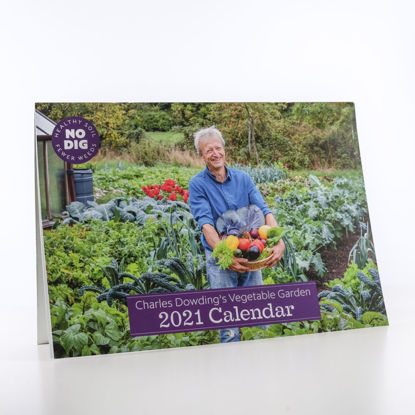 Picture of Charles Dowding 2021 A4 Calendar