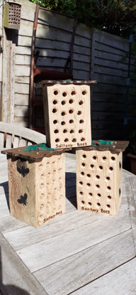 Picture of Wooden Solitary Bee Boxes - SOLD OUT (More coming!)