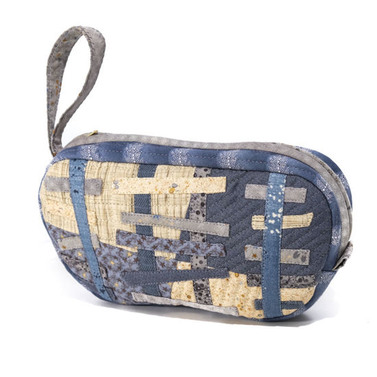 Picture of Patchwork Toiletries/Makeup Bag (SOLD)