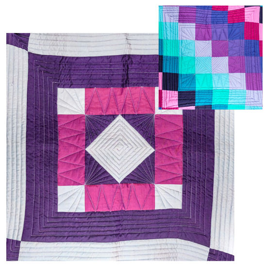 Picture of Double-Sided Patchwork Quilt