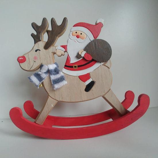 Picture of Rocking Reindeer & Santa