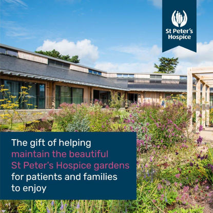 Help maintain our beautiful hospice gardens