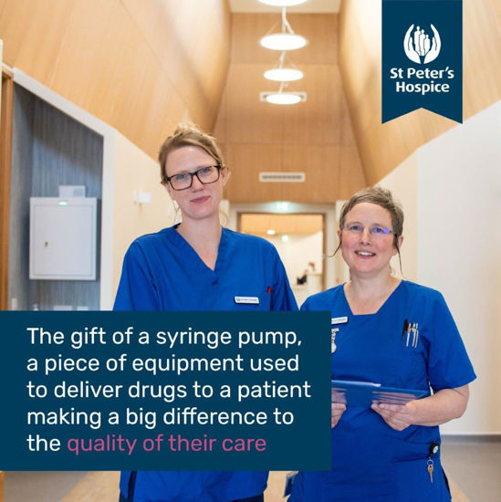 Give a syringe pump, a piece of equipment used to deliver drugs to a patient