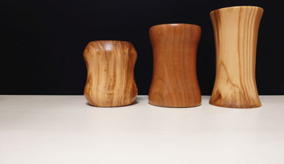 Picture of Wooden Jewellery Pots & Vases