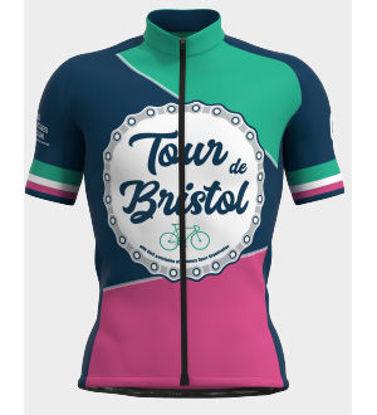 Tour de Bristol jersey 2021 front