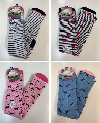 Picture of Ladies Welly Boot Socks