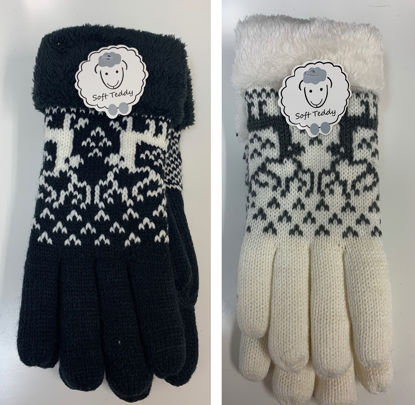 Ladies Deer Gloves