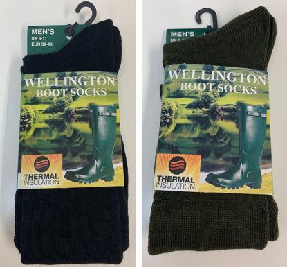 Mens Welly Boot Socks