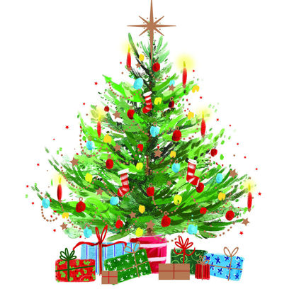 Picture of Presents Under the Tree